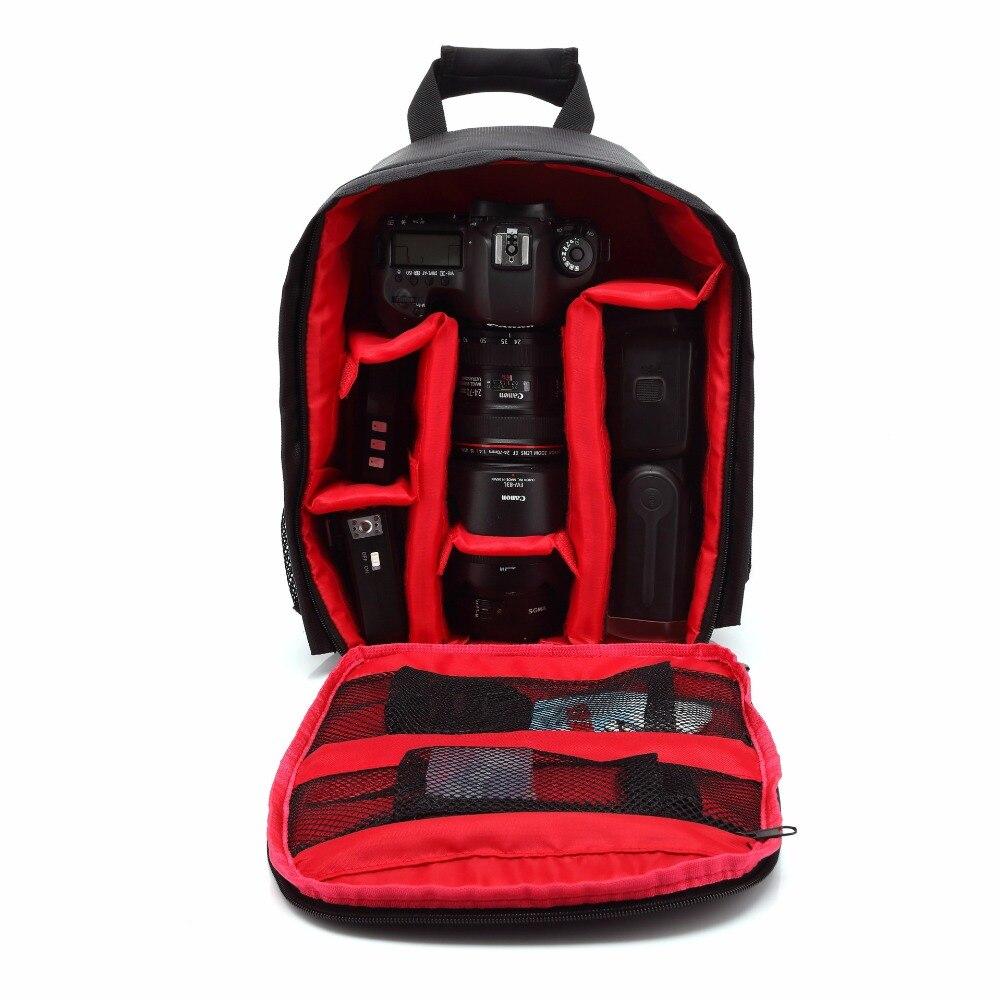 2017 Multifunctional women and mens Shockproof Waterproof Camera Bag backpack Professional Digital Photo Bag Photos Bags Canon