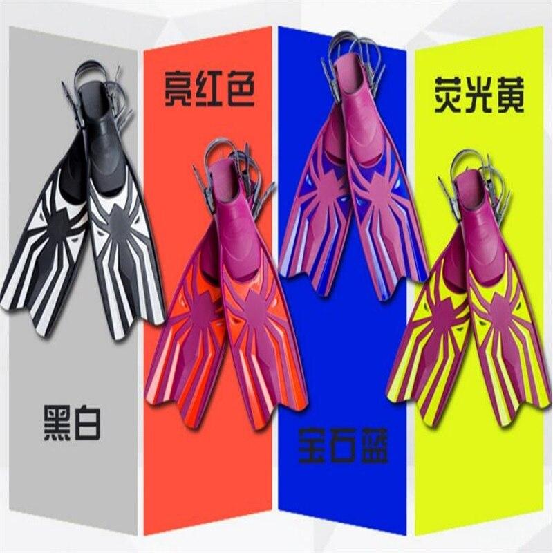 Palmes de plongée en caoutchouc professionnelles palmes d'entraînement de natation réglables palmes de haute qualité - 5
