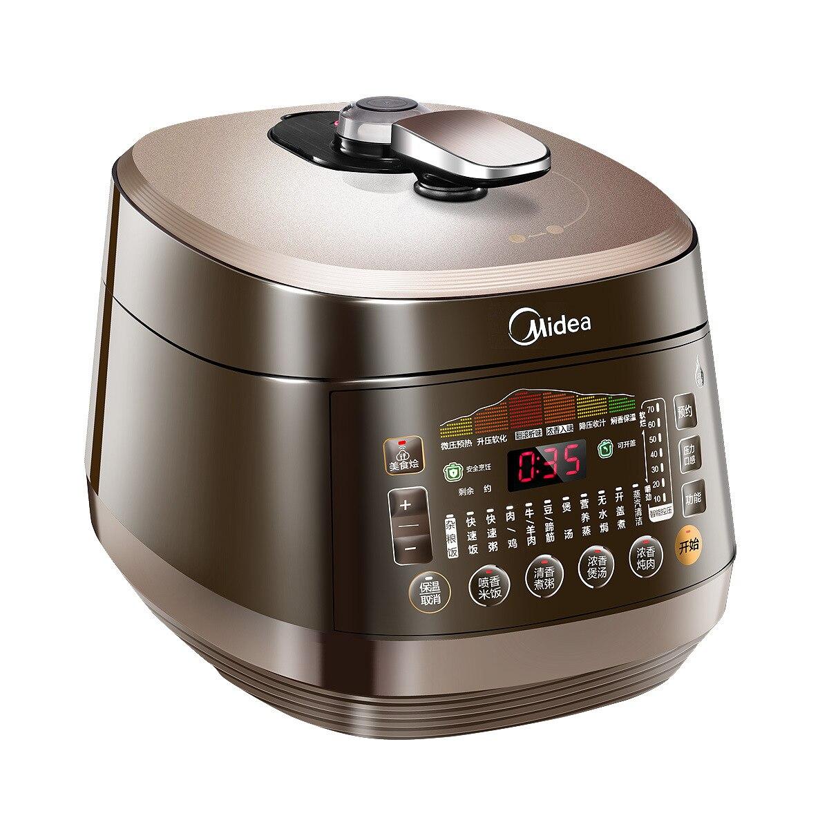 Cuiseur de tension double vésicule biliaire cuiseur à riz Intelligent ménage autocuiseur électrique 3-6 personnes mijoteuse pot instantané