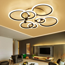 лучшая цена Modern LED Ceiling Lights Remote Control Aluminum Ceiling Lighting For Bedroom/Living Room Indoor Ceiling Lamp Fixture plafond
