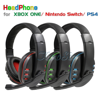 PS4 / Nintend Switch Gaming Headphone Wired Headset Earphone with Noise Canceling for Xbox one / Playstation 4 / NintendoSwitch