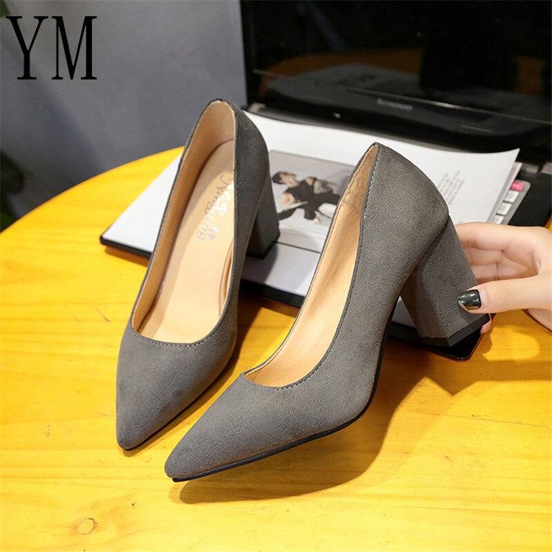43 gris Con Piel 5 7 Puntiagudos De Trabajo Negro Alto Cm Para Zapatos  Tacones Tacón Oficina Sintética Mujer TqvBf8 7bd2d493a1a8