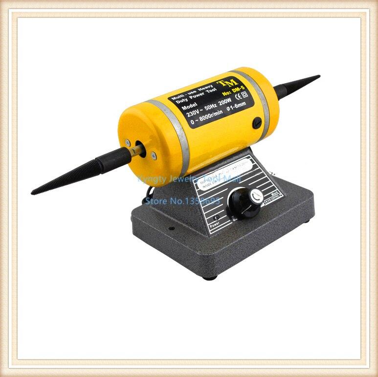 220V 10,000RPM Jewelry Polishing Machine Power Tools Bench Grinder