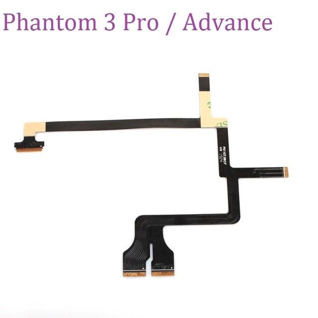 กล้อง Gimbal Flex ริบบิ้นแบนสายซ่อมชิ้นส่วนอะไหล่สำหรับ DJI Phantom 3 โปรและ Advanced อุปกรณ์เสริม