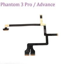Gimbal kamera kablosu Şerit Düz Kablo Tamir Parçaları Için DJI Phantom 3 Pro ve Gelişmiş Yedek Aksesuarlar