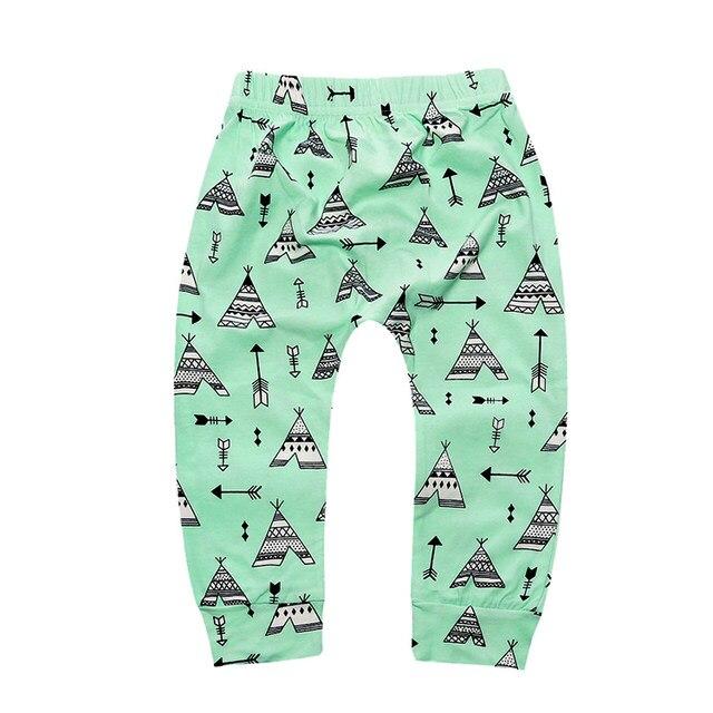 Nouveau 2018 enfants pantalon sarouel enfants nouveau Automne mode coton  garçon fille pantalon sleepping pantalons 1,3 y bébé vêtements CP182