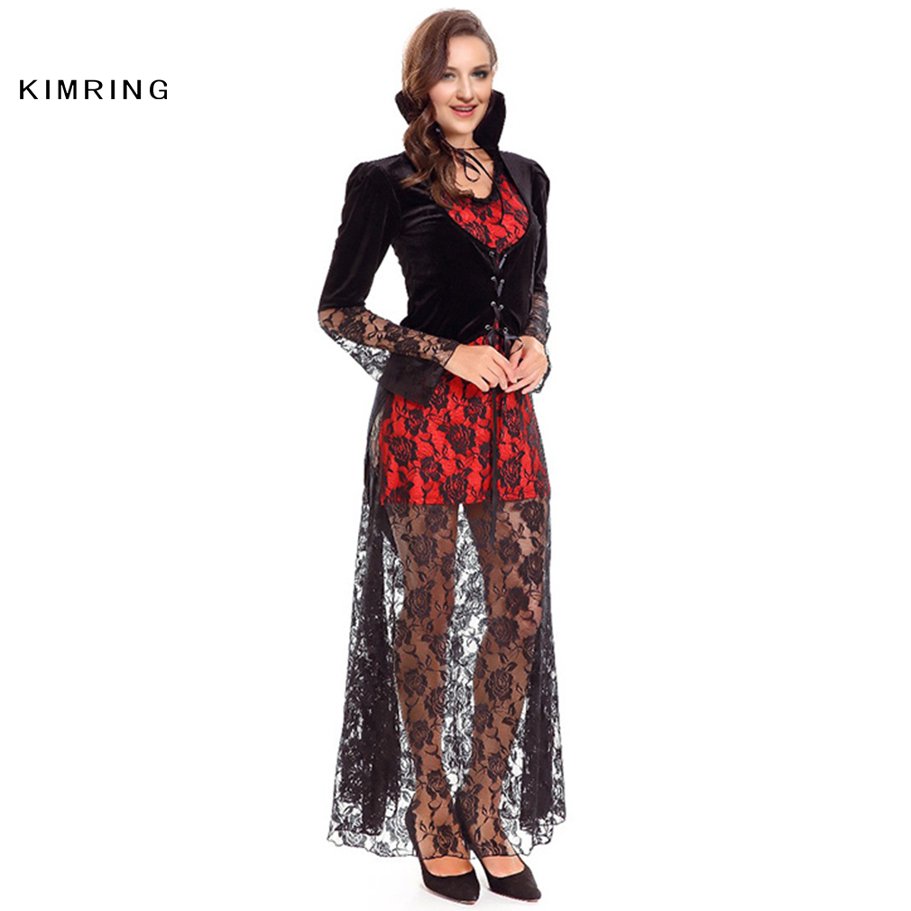 Kimring Sexy Vampire Halloween Kostüm für Frauen Halloween partei ...