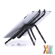 цена на Spider Style Universal Tablet Stand Holder For iPad 2 3 4 Air Mini For Samsung Lazy Bed Desk Mount For 5-10 inch Tablet & Phone