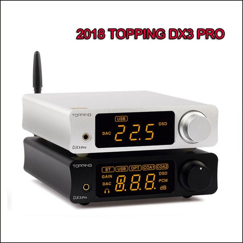 TOPPING DX3 Pro DX3PRO Casa HIFI DAC Bluetooth 5.0 Audio Amplificatore Decoder XMOS XU208 AK4493 OPA1612 USB DAC Amp Ottico coassiale