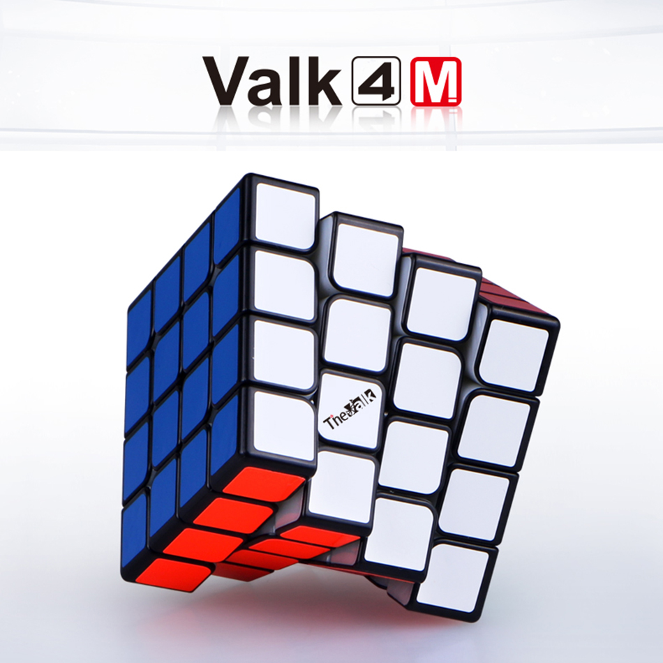Valk 4 Valk4 M cube 4x4 60mm Magnetic speed Magnetic cube MoFangGe QiYi Competition Cubes Toy