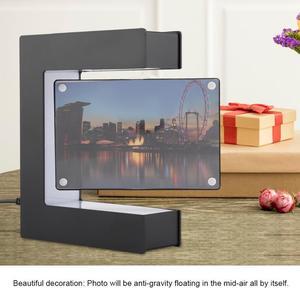 Image 3 - Electronic Magnetic Levitation Floating Photo Frame with LED Lights Novelty Gift Home Decoration Pictures Frames