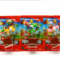 Best Christmas Gift 3pcs/set Cute 3' Super Mario Bros Yoshi with Mario Luigi Mushroom spring Shake Figures Model