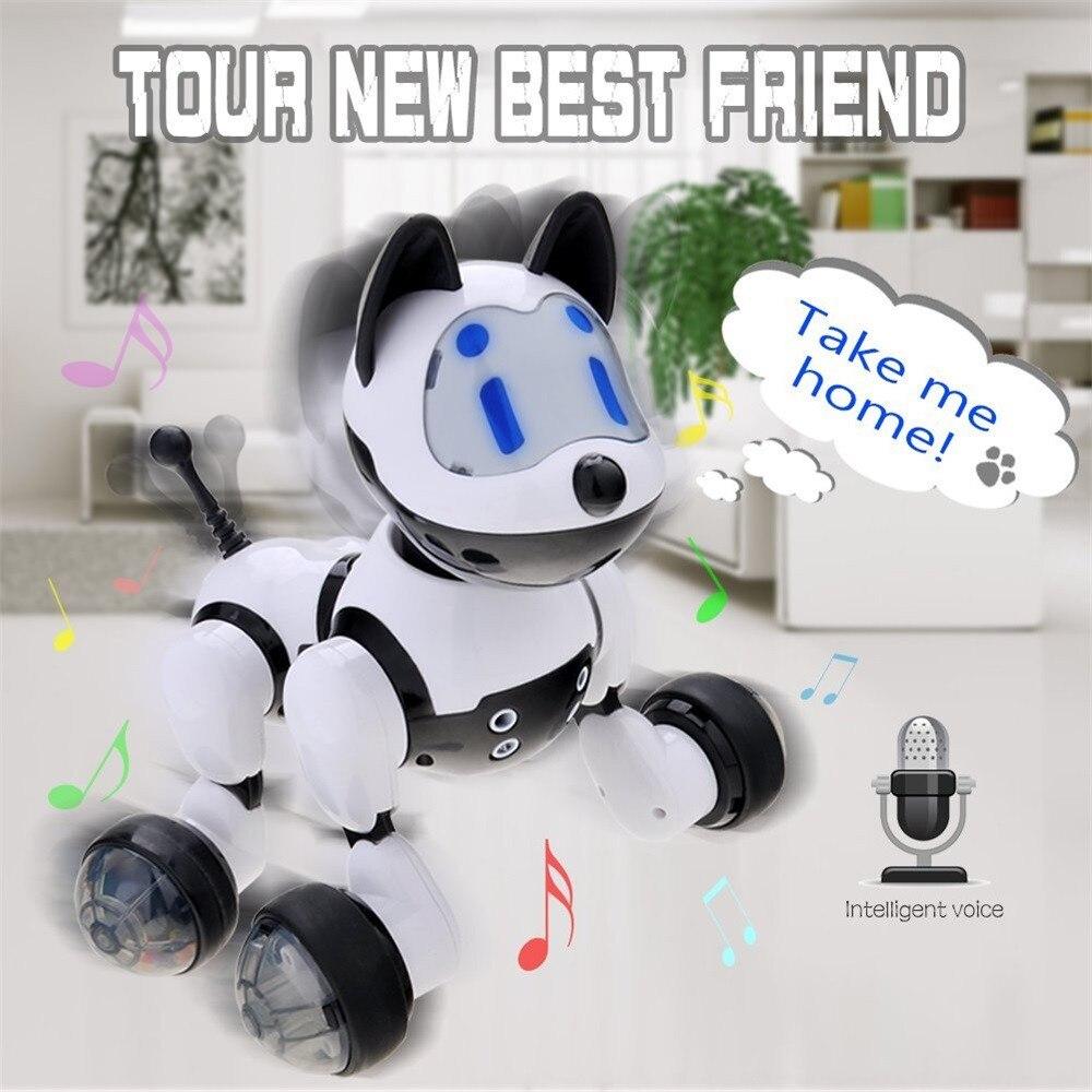 HIINST Haute Intelligence Youdi Reconnaissance Vocale Électronique Jouet Chien Chiot Musique Briller Avec Votre Chiot Super Fun Dec8