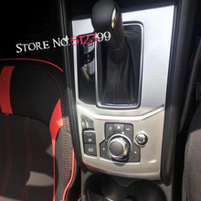 1 * Mate ABS Caja Del Cambio de Engranaje Interior Panel de Ajuste de La Cubierta Para El Mazda CX-5 CX5 2nd Gen. 2017 2018 Para Mano izquierda Unidad de alto equipado!
