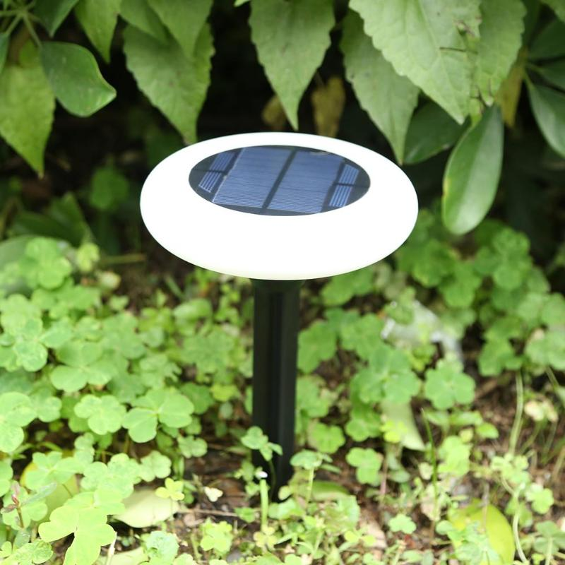 4pcs Solar Light Outdoor Ground Water-resistant Path Garden Landscape Lighting Yard Driveway Lawn Pond Pool Pathway Night Lamp yunlights solar ground lights waterproof 5 led landscape path light walkway lamp for home garden yard driveway lawn