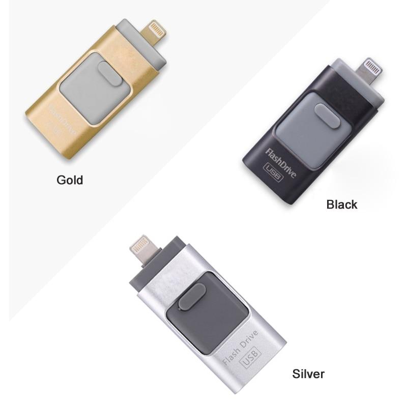3 colors for iPad USB flash