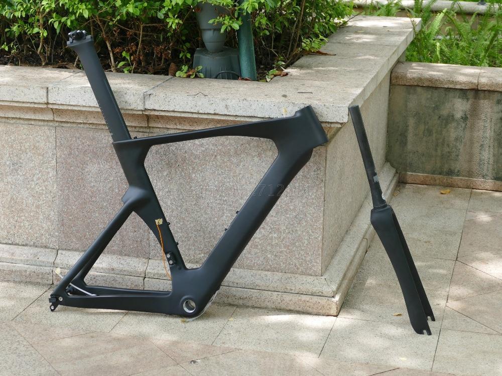 Toray Carbon Time Trial Triathlon Bike Frameset ( frame   fork   seatpost   seat nut) TT Frame 52cm   54cm   56cm   58cm|Bicycle Frame| |  - title=