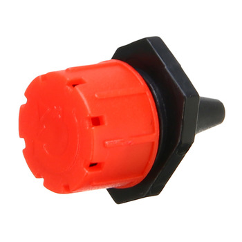 100 pcs Ajustável Micro Sistema de Irrigação Por Gotejamento Planta Rega Sprinklers Emissor Drippers Jardim 1/4