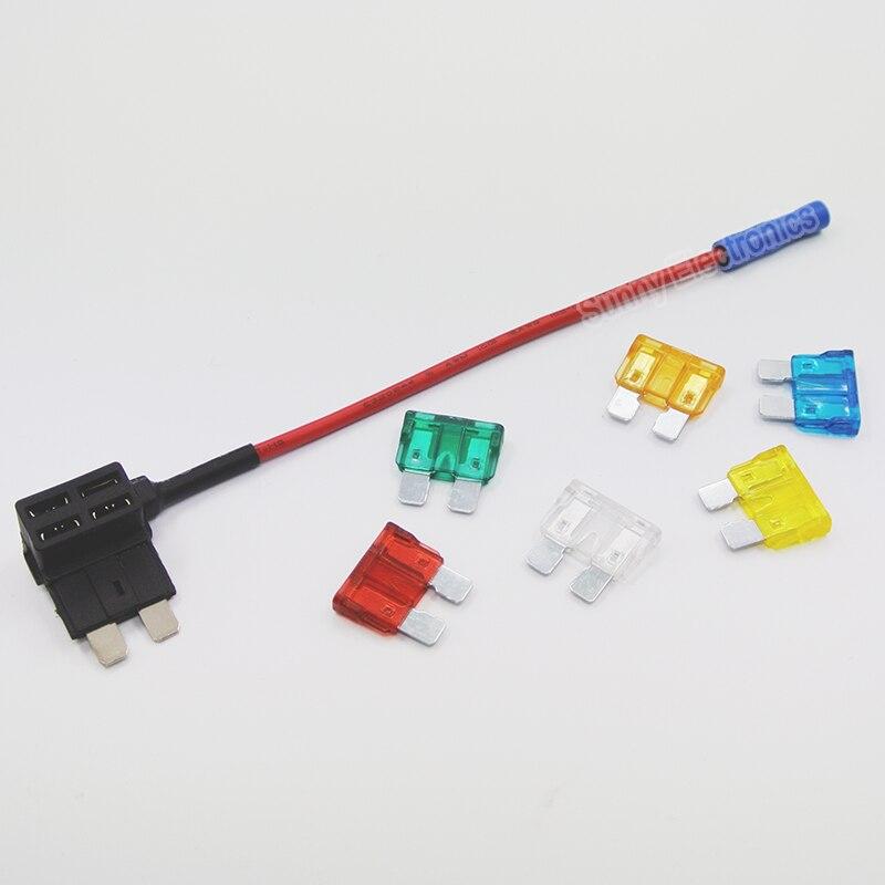 Add A Circuit Fuse Tap Piggy Back Standard Blade Fuse Holder Ato Atc 12v 24v
