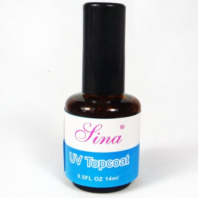 14 ml uv gel top coat professional nail polish top coat excellent nail gel