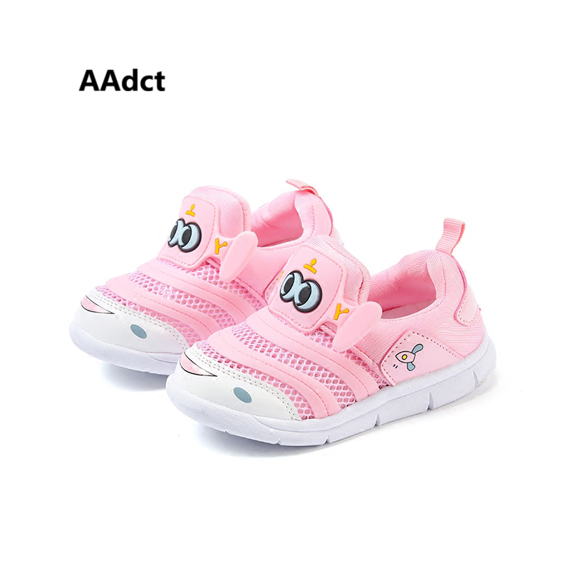 AAdct 2018 summer Mesh toddler baby girls shoes sports soft sole running little boys sho ...