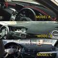 Auto Styling Abdeckungen Dashmat Dash Matte Dashboard Abdeckung Für Mercedes-Benz C-Klasse c180 c200 c230 c260L C300 w204 w205 2007-2018