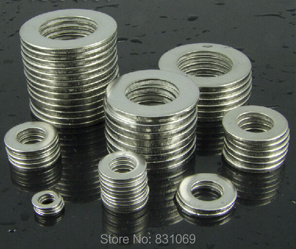 20pcs M20 304 Stainless Steel Flat Washer Plain Washer