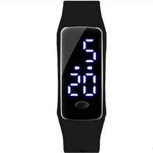 Multi-functional leisure fashion watches LED the boy watches business gift clock electronic watch movement waterproof bracelet
