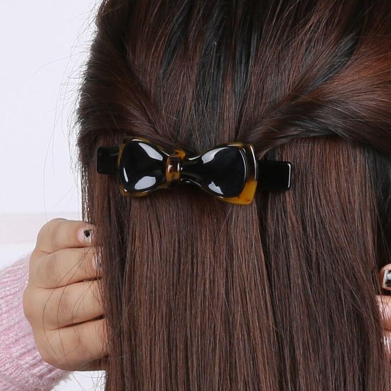 Kadın Saç Aksesuarları Güzel Leopar Yay Kızlar Için Saç Klip - Elbise aksesuarları - Fotoğraf 4