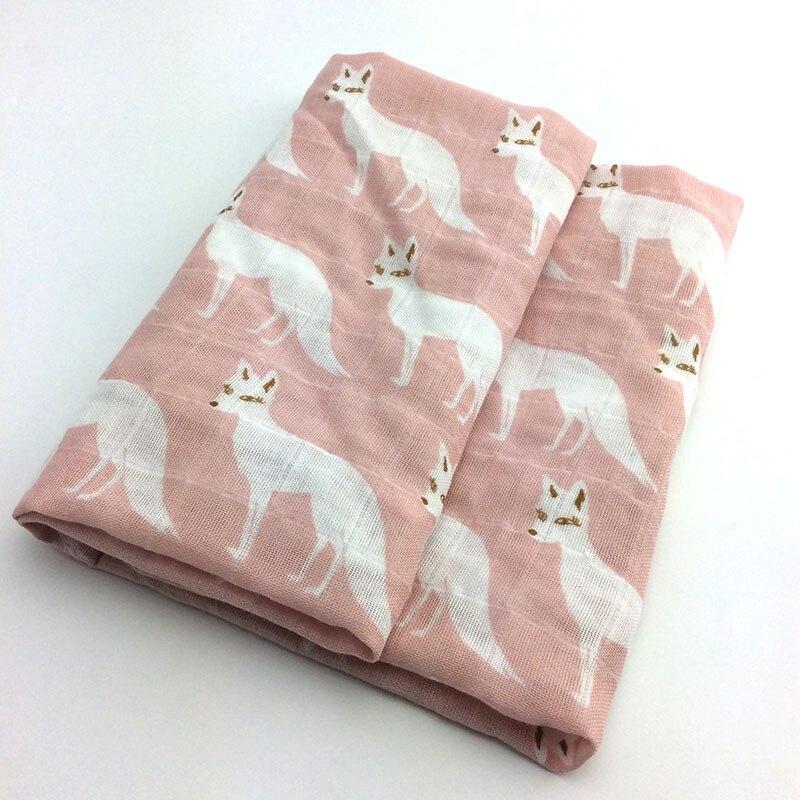 Новинка; хлопковое детское одеяло для новорожденных; мягкое детское одеяло из органического хлопка; муслиновое Пеленальное Одеяло для кормления; тканевое полотенце; шарф; детские вещи - Цвет: 24