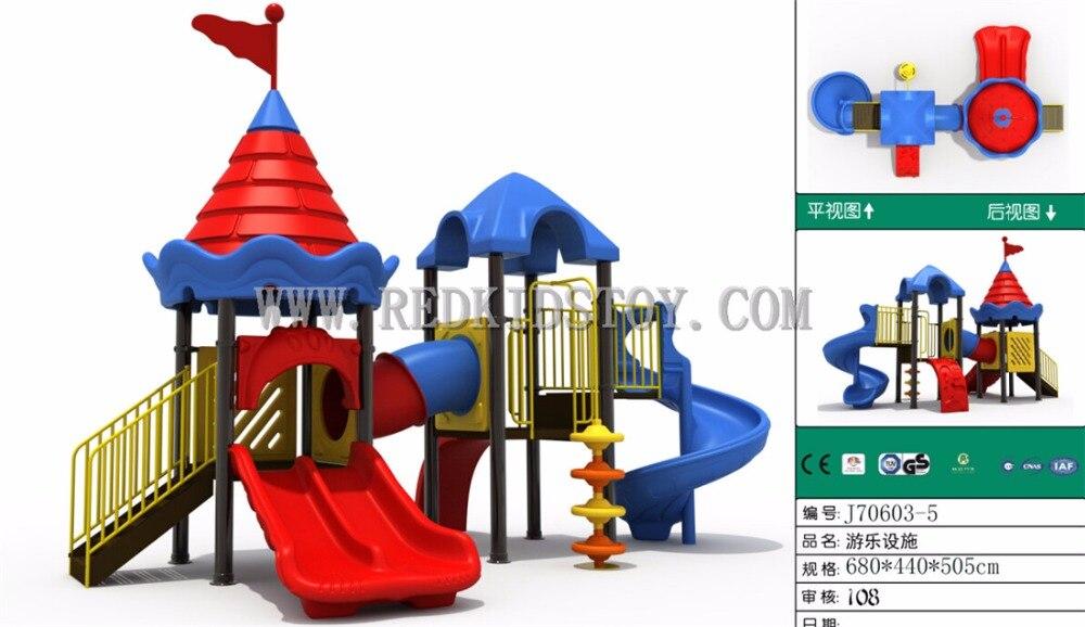 Juego De patio escolar exportado a Canadá CE aprobado Parque De Juegos Infantil J706035