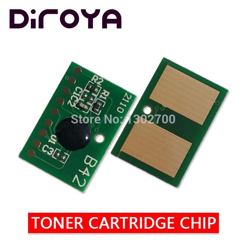 5PCS 45807115 Toner Cartridge chip For OKI data ES5112 ES4132 ES4192 ES5162 ES 5112 4132 4192