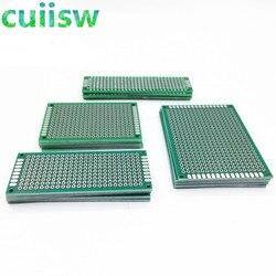 20 teile/los 5x7 4x6 3x7 2x8 CM Doppel Seite Kupfer Prototyp PCB universal Board Experimentelle Entwicklung Platte Für arduino