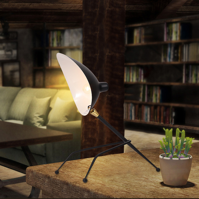 home office desk lamps. Replica Duckbill Serge Mouille Desk Lamps Black. Nordic Industrial Loft Table Light Home Office Lighting D