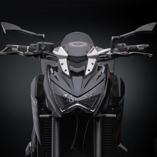 Universal aluminio CNC motocicleta retrovisor espejo lateral para tomok Yamaha BMW Honda Suzuki Ducati Kawasaki KTM hyosung Benelli ATV retrovisor de moto accesorios para moto er6n moto espejos moto