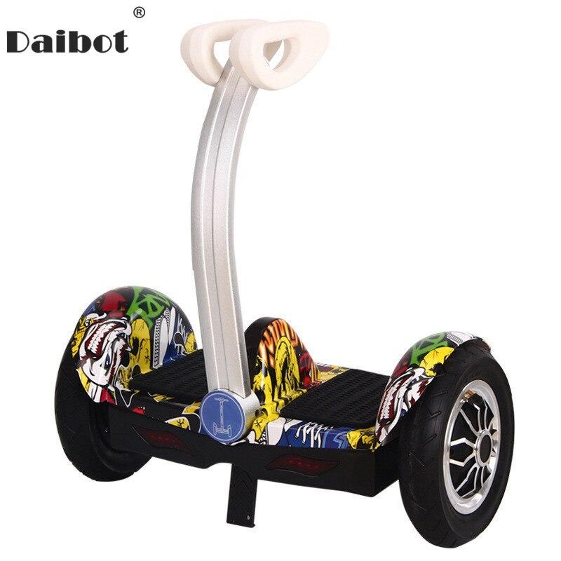Daibot Balance Scooter Hoverboard auto équilibrage Scooters Bluetooth haut-parleur Portable 350 W * 2 Scooter électrique 36 V pour adultes