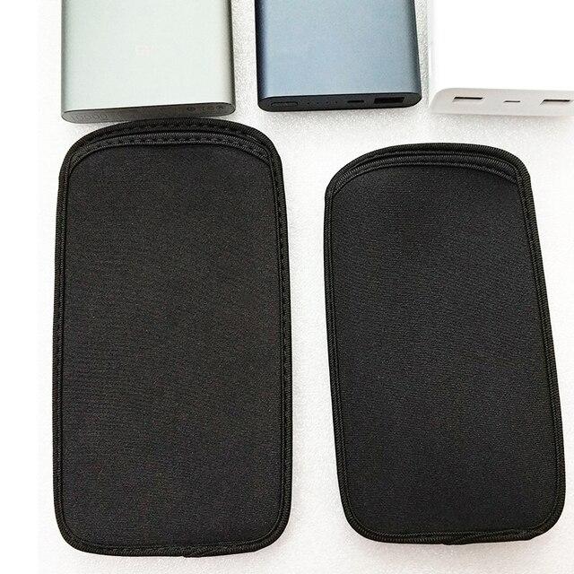 Nuevo 10000 mAh 2 Pro bolsa 20000 mah 2C funda Xiaomi mi Power Bank 2i batería Powerbank 10000 teléfono elástico bolsa 20000 2