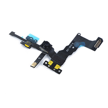 Wholesale 10pcs/lot Original For Apple iphone 5S Front Camera With Sensor Flex Cable Ribbon Assembly free shipping