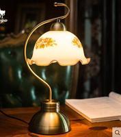 vintage table lamp bedroom European bedside lamp
