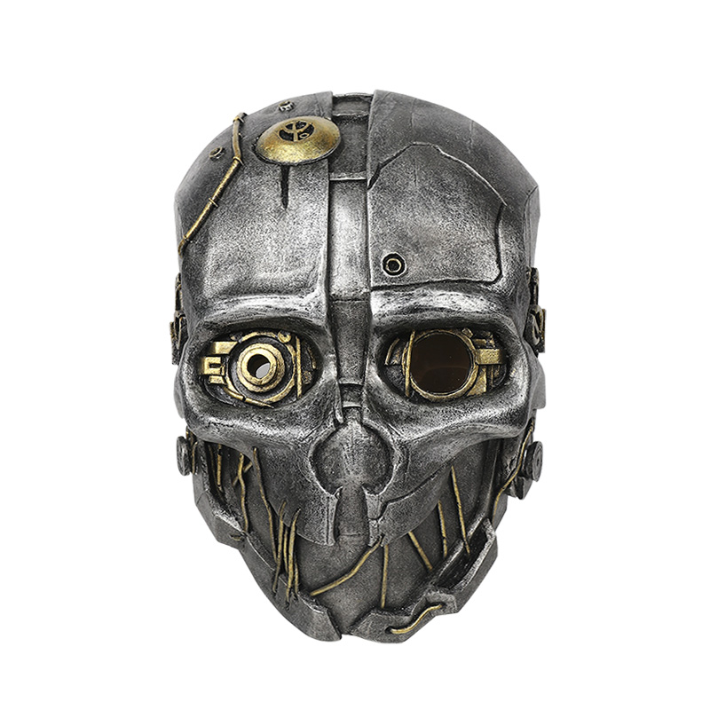 FRP Dishonored 2 Corvo Attano Mask Dishonored Corvo Attano Helmet For Cosplay Game Costume Accessories-in Costume Accessories from Novelty & Special Use    2