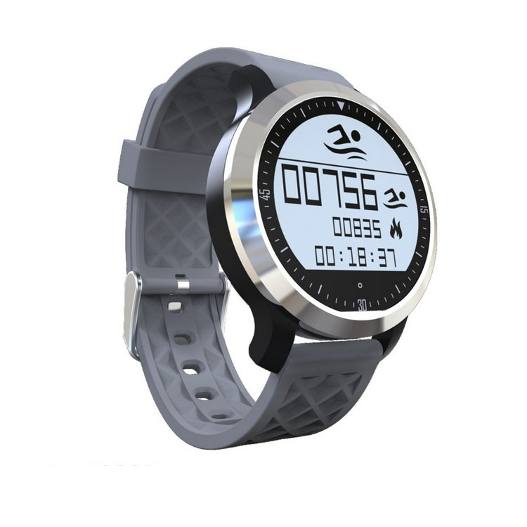 Symrun Android And Ios Pedometer Health Tracker IP68 Waterproof Swimming Smart Watch F69 Call Message Remind Smartwach wireless service call bell system popular in restaurant ce passed 433 92mhz full equipment watch pager 1 watch 7 call button
