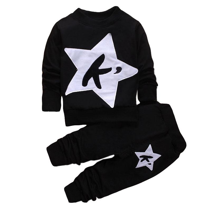 LZH Children Clothes 17 Autumn Winter Girls Clothes Set T-shirt+Pant 2pcs Outfits Kids Boys Sport Suit For Girls Clothing Sets 18