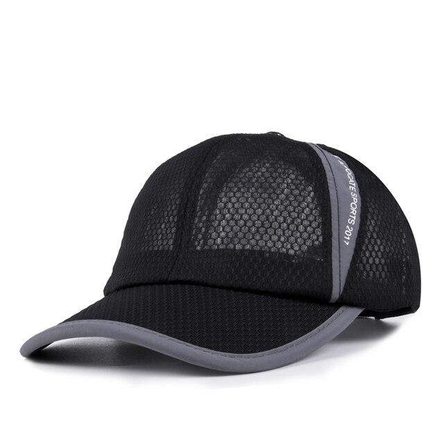 8 Panel NY Baseball Cap with Mesh Brand Snapback Hat Trucker Cap New York  Baseball Caps Men Women 2017 Summer Mesh Cap 8e0f49bc849c