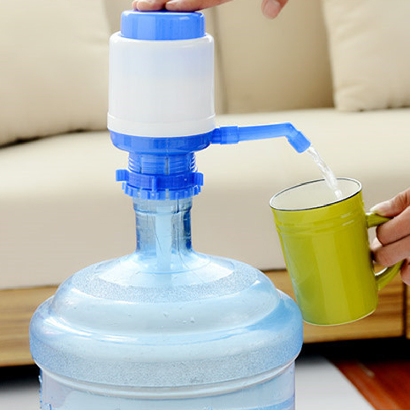 US $4.93 48% OFF|Hand pressure Water Bottle Pump Dispenser Drinking Water  Bottles Suction Unit Portable Water Dispenser Kitchen Tools-in Water ...