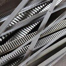 8 pcs Mod 1 10x10x1000mm spur Gear rack right teeth WIDTH 10MM HEIGHT 10MM L1000