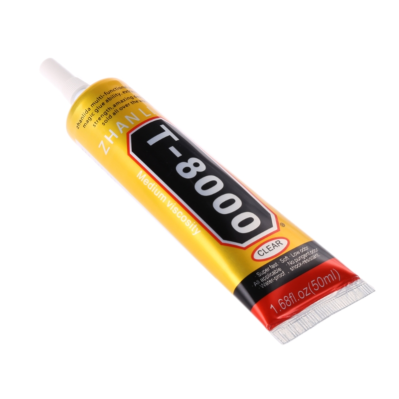 T8000 Multi purpose Adhesive glass touch screen LCD panel frame fixing glue 50ml Ultra long lasting and adhesiveT8000 Multi purpose Adhesive glass touch screen LCD panel frame fixing glue 50ml Ultra long lasting and adhesive