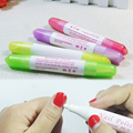 1PCS Nail Art Corrector Pen Remove Mistakes + 3 Tips Newest Nail Polish Corrector Pen Cleaner Erase Manicure for nail makeup