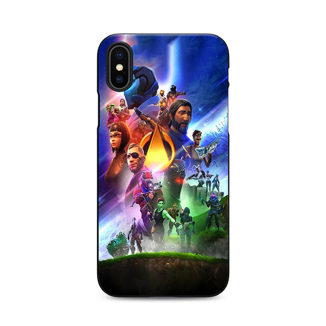 best website 42b49 50ae7 Fortnite Battle Royale iPhone X 8 7 6 5 Phone Cases