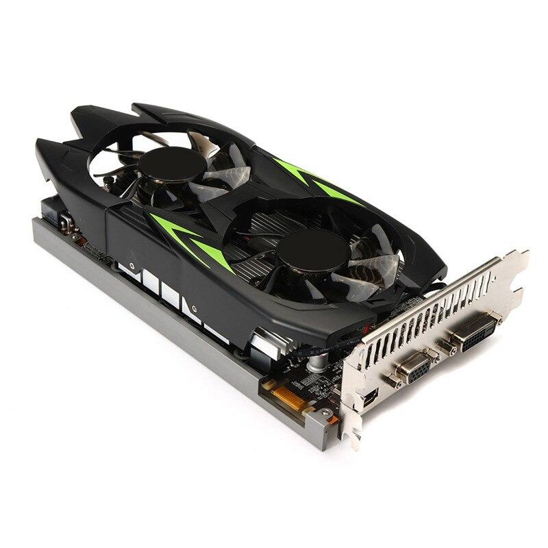 GTX660TI 3GB GDDR5 192bit VGA DVI HDMI Graphics Card w/ Fan For NVIDIA GeForce new gtx 1050 2gb ddr5 192bit vga dvi hdmi graphics card for nvidia geforce 18mar27 drop ship f
