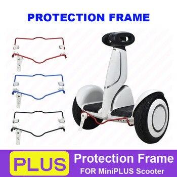 Marco de protección de aluminio para Ninebot miniPLUS, parachoques, barra protectora anticolisión, soporte de estacionamiento para Scooter equilibrio Xiaomi
